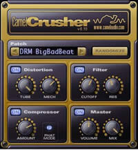 Multi-effetto CamelCrusher (VST AU plugin per Windows e Mac – free)