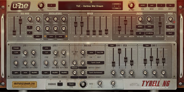 Download the Top VST Plugin TyrellN6