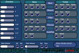 Fra le caratteristiche di Amoeba:  Click tone - tune of click.