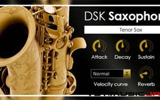 Fra le caratteristiche di DSK Saxophones:  Reverb fx included.