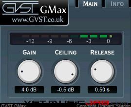 Fra le caratteristiche di GMax:  Meter.