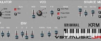 KRM-101: basato su Roland SH-101, con ottimi suoni di basso e lead.