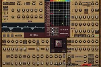 Fra le caratteristiche di Kx-PolyM-CSE:  (CS, organ, EP, bass, lead, brass, string, RMO).