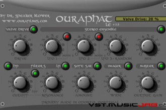 Fra le caratteristiche di OuraPhat LE:  Stereo and mono-stereo components.