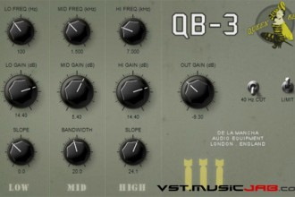 Fra le caratteristiche di QB-3:  Presets covering all functions and different configurations.