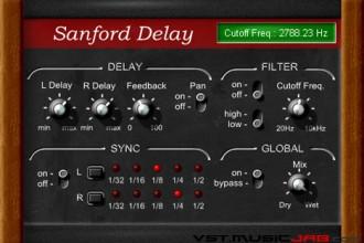 Fra le caratteristiche di Sanford Delay:  MIDI Learn.