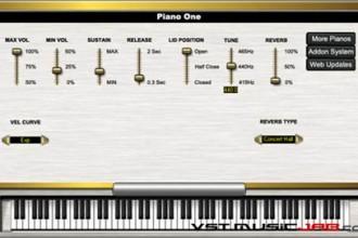 Fra le caratteristiche di Piano One:   usage.