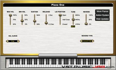 il suono virtuale del Grand da concerto Yamaha C7
