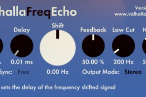 delay echo frequency shifter ValhallaFreqEcho