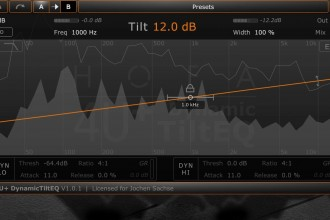 Tilt EQ Gratis per Mac e Windows – Audio Unit, VST, RTAS Plugin