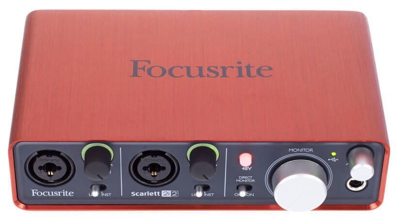 Focusrite Scarlett 2i2 - Recensione Video