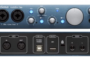Interfaccia audio a meno di 150 euro con interfaccia MIDI