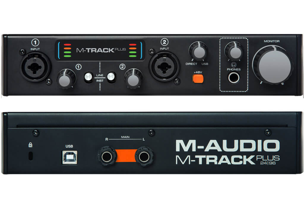scheda audio usb economica m-audio m-track plus mkii