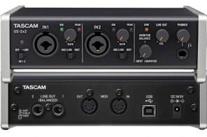 Scheda Audio USB Tascam US-2x2 Opinione