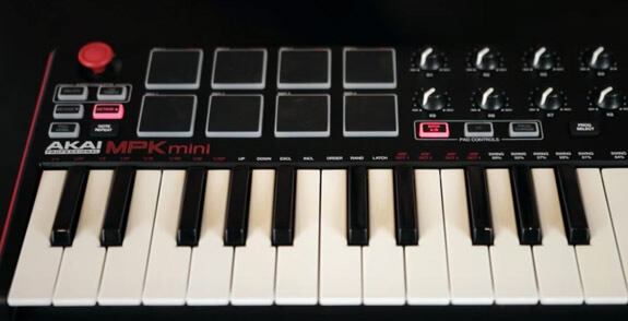 mpk mini keys 2 ottave