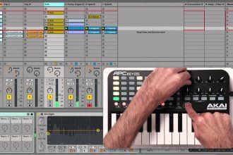 Controller MIDI portatile per Ableton Live: Akai APC Key 25