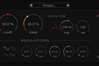 plugin audio bit crusher