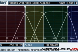 Fra le caratteristiche di CrossOver:  For configurations with more than 2 output bands, the signal is first split into 2 bands (low and high) and then the low or high or both bands is/are split further, thus the splitting is done in a hierarchical manner.