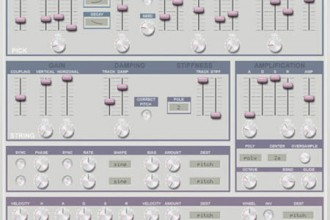 Fra le caratteristiche di Pling4:  Just add your  favourite resonance modeler and amp sim effects.