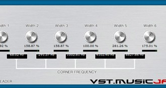 Fra le caratteristiche di Six Band Spreader:  Stereo-width from 0% to 400%.