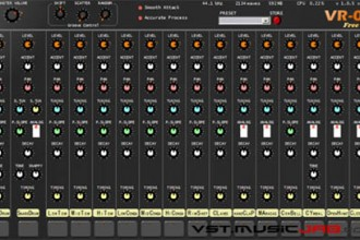 Fra le caratteristiche di VR-08 free:  Parameters are designed to take advantage of this huge library, to recreate the original sound of the TR-808 as close as possible.