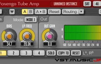 Fra le caratteristiche di Tube Amp:  Zero processing latency.