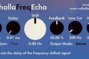 delay echo frequency shifter ValhallaFreqEcho