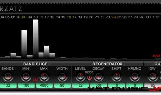 Fra le caratteristiche di Erzatz:  +-100% frequency shift.