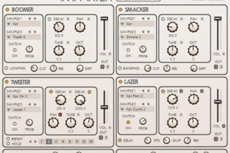 Fra le caratteristiche di Impakter:  52 presets covering a range of sounds and styles.