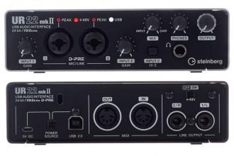 Recensione scheda audio USB professionale Steinberg UR22 MK2